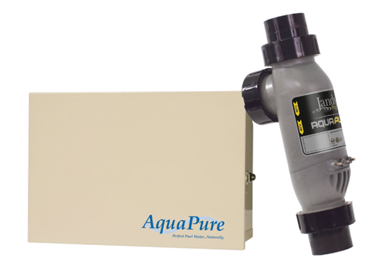 AQUAPURE® SALT WATER POOL SYSTEM - Create a Saltwater Oasis in Your Backyard