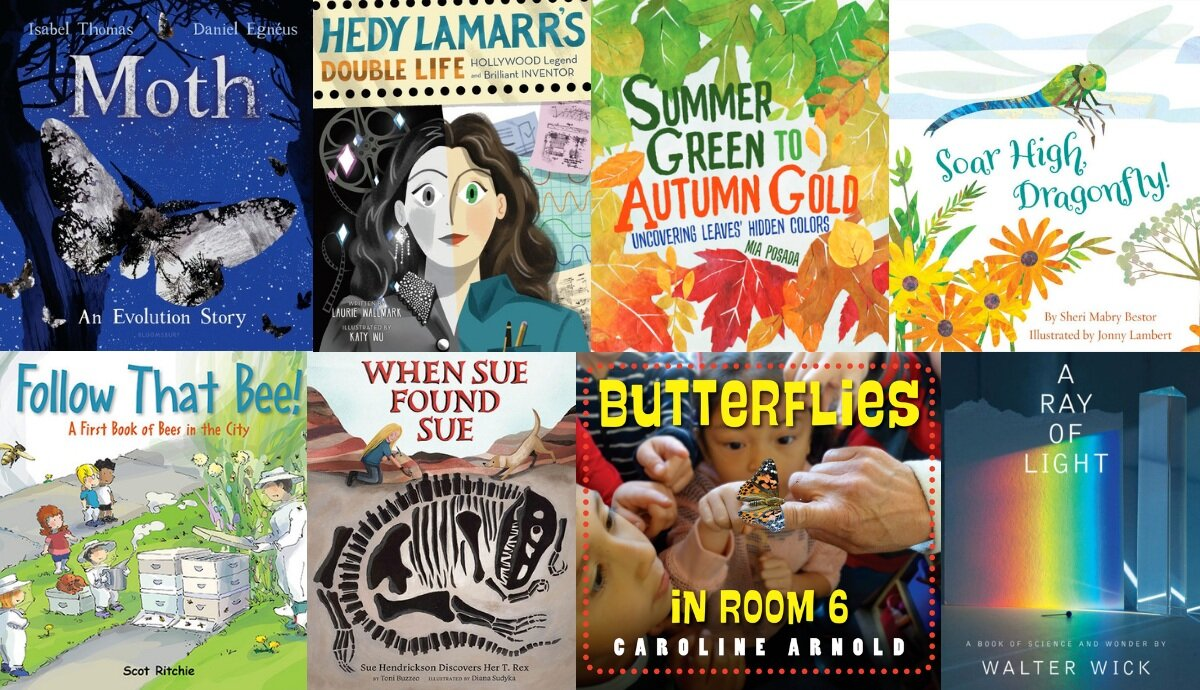 Longlist for 2020 Children's Science Picture Book Award ...