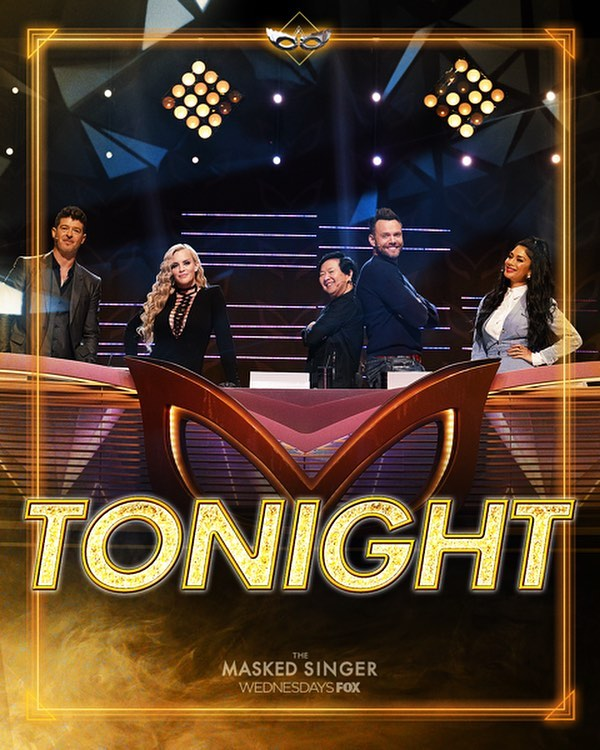 Tune-in TONIGHT @maskedsingerfox on @foxtv 9/8c.