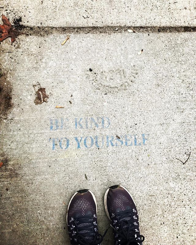 Be kind to yourself everyone 💙 #reminder #positive #bekind #toronto #loveiseverywhere