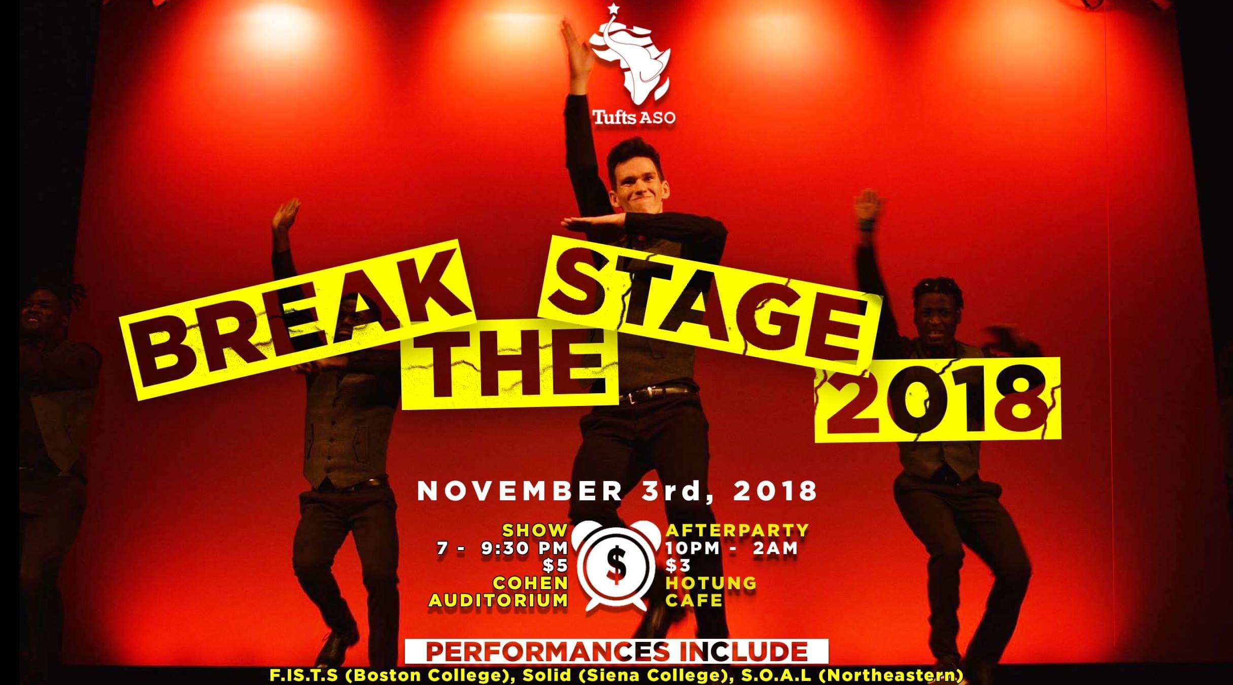 Break The Stage - Tufts ASO