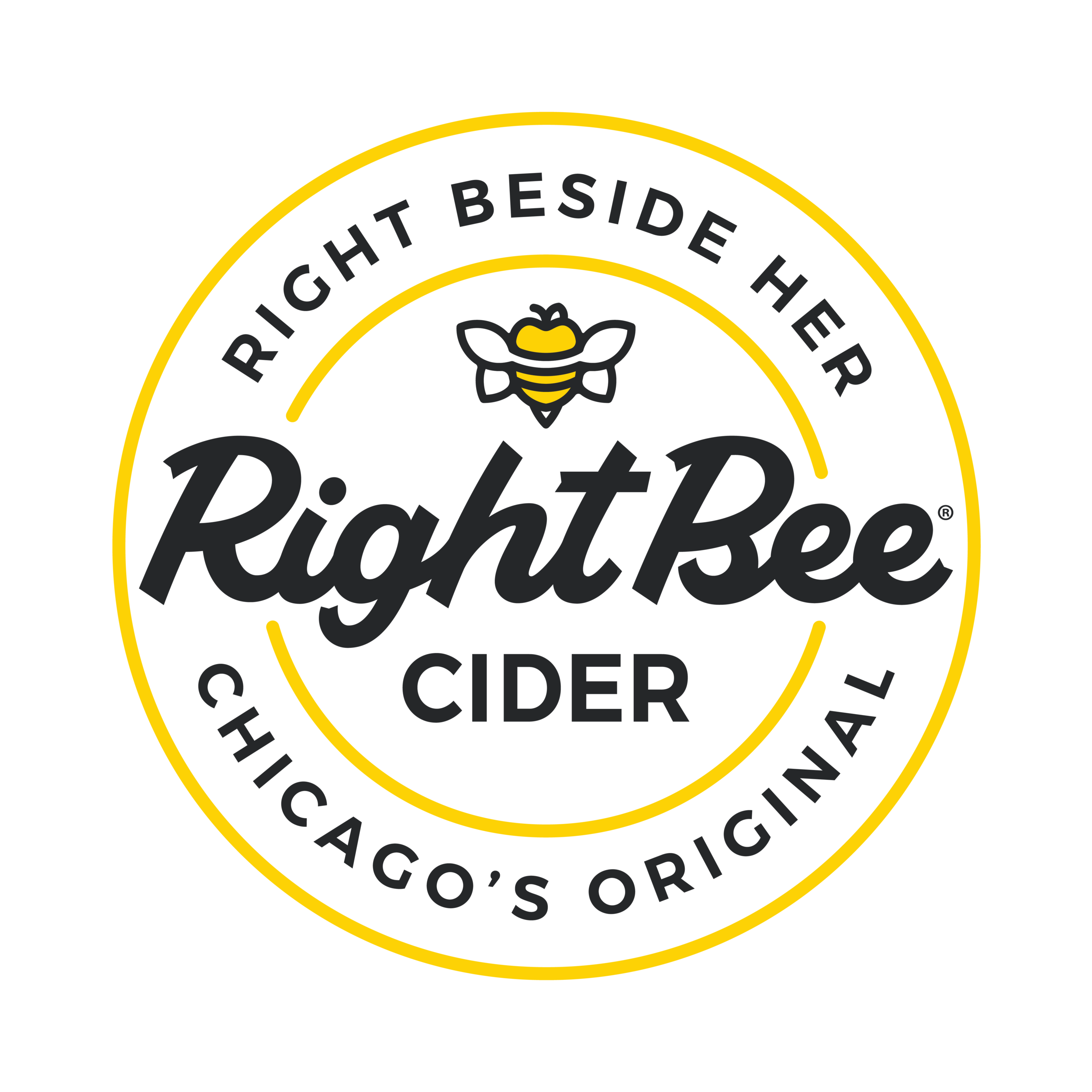 Right Bee Cider Logo