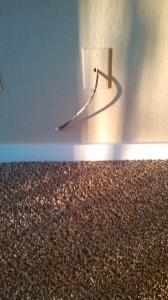 Cable Off Carpet