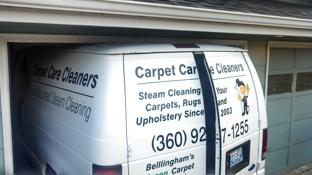 Carpet Cleaning Van not fitting in Garage