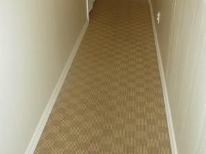 Olefin Carpeted Hallway