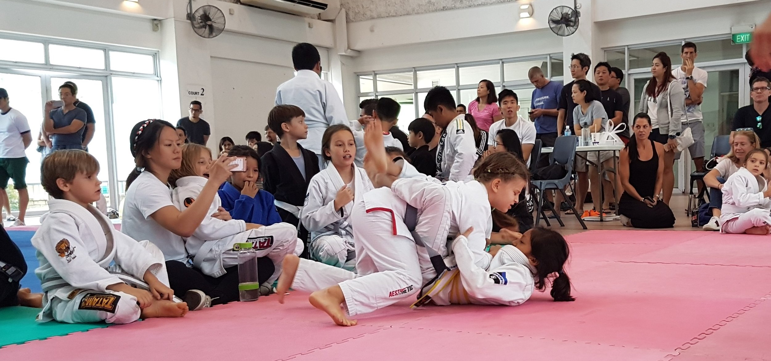 BJJ Competition in Singapore (2017)