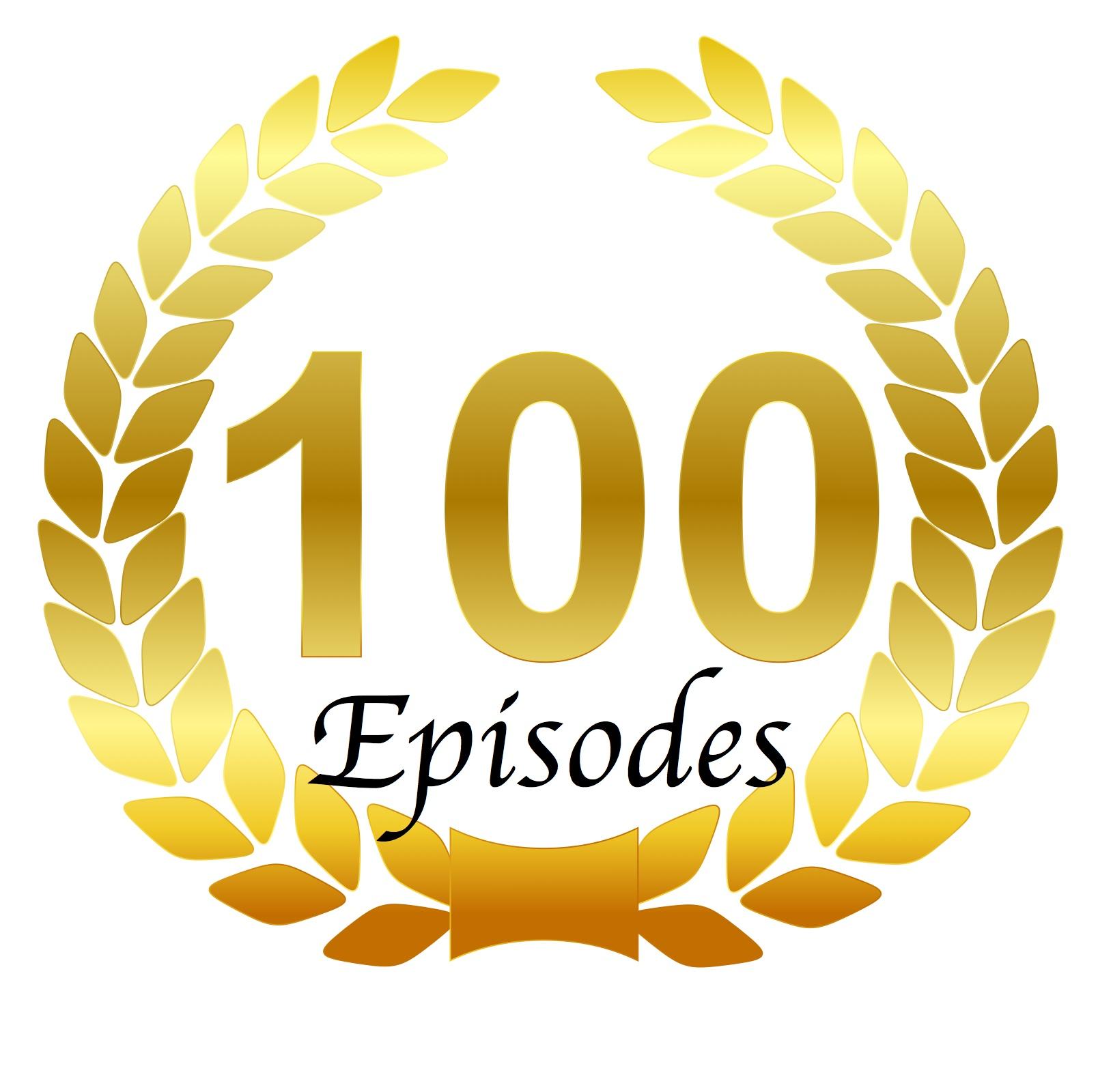 laurel wreath - 100 Episodes.jpg