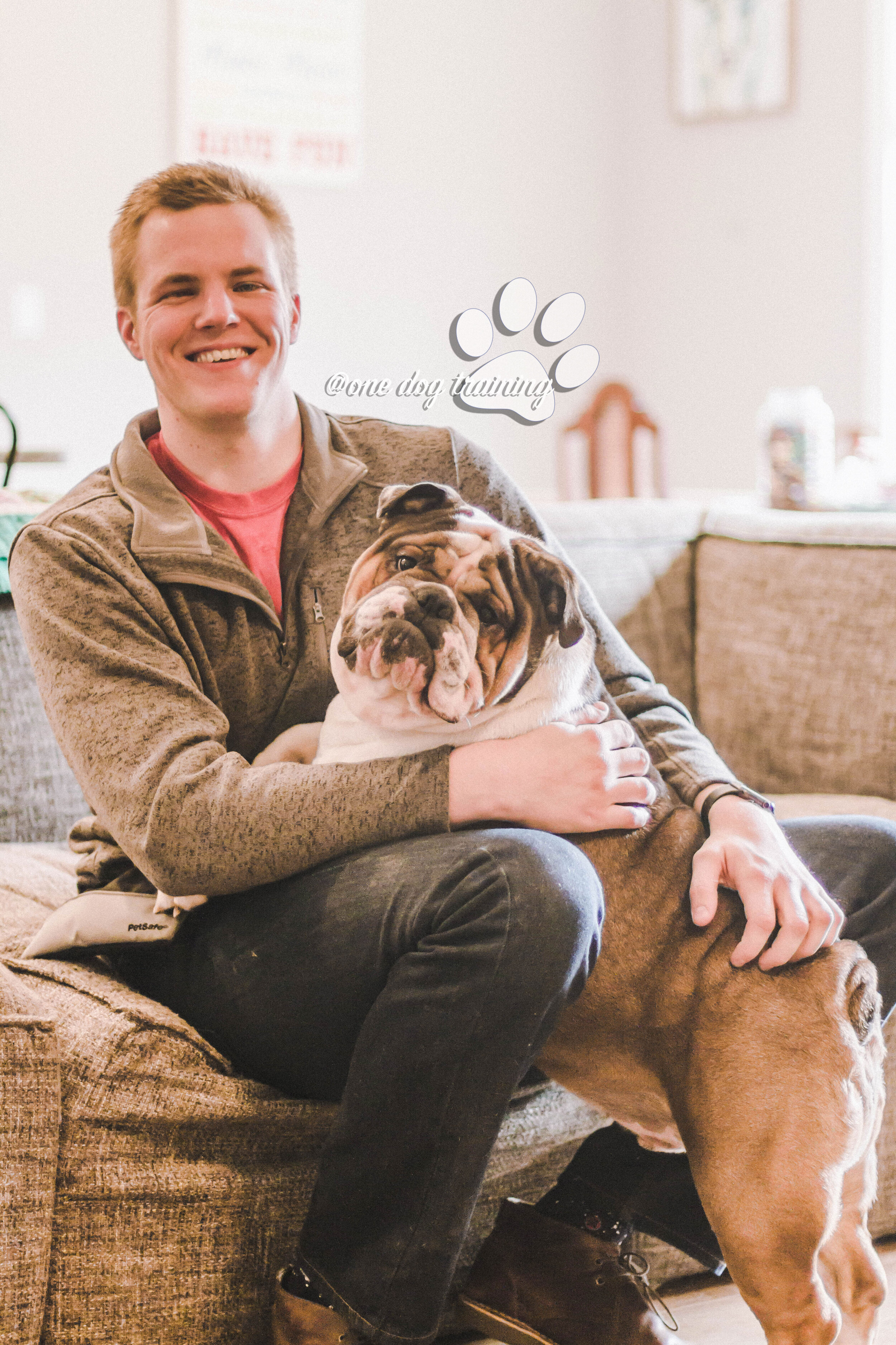 Corey McDaniel, Master Dog Trainer with Tuck