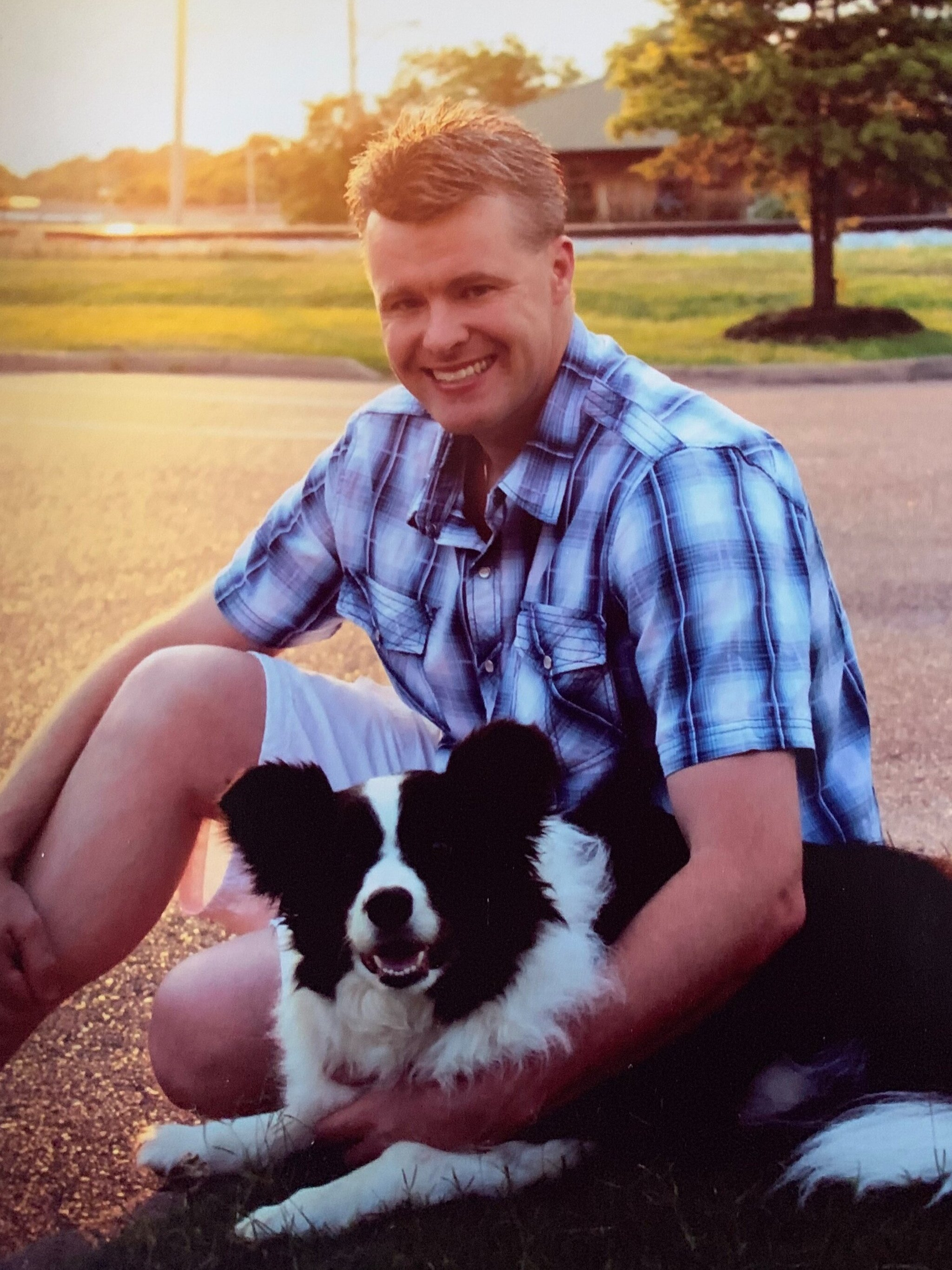 Brad & Chase, winner of Best Dog in Bartlett 5 years in a row.