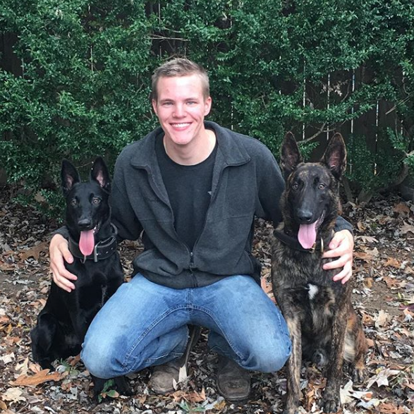 Mia, Corey & Kohl, the dogs who started it all