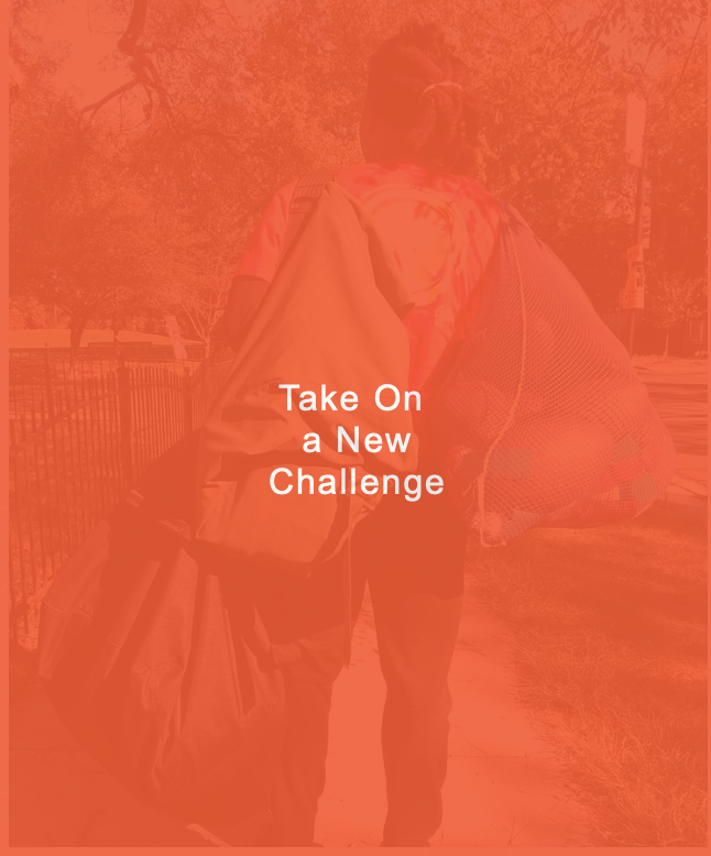 Take On  a New Challenge