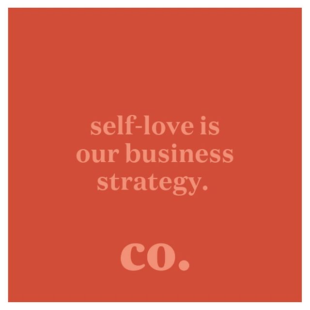 entrepreneurs, listen up — self-love and self-care MUST be built into your business strategy. if you want some tips, check out our latest blog — link in bio 💋