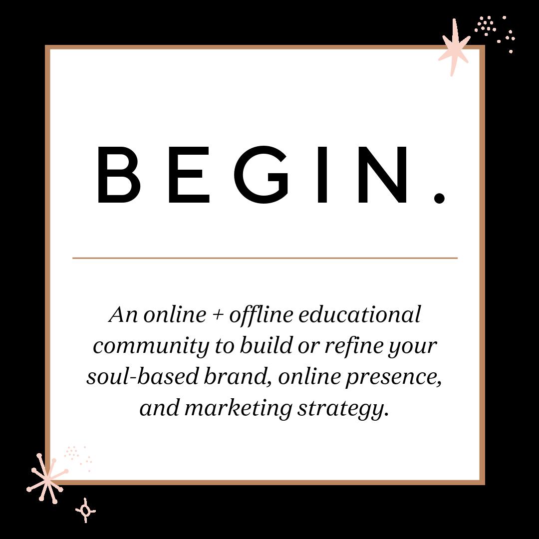 studio co.creative begin brand soul style strategy for soulpreneurs