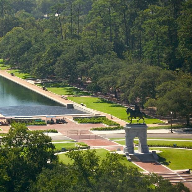 Hermann Park - Sam Houston Monument