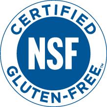 NSF Gluten-Free