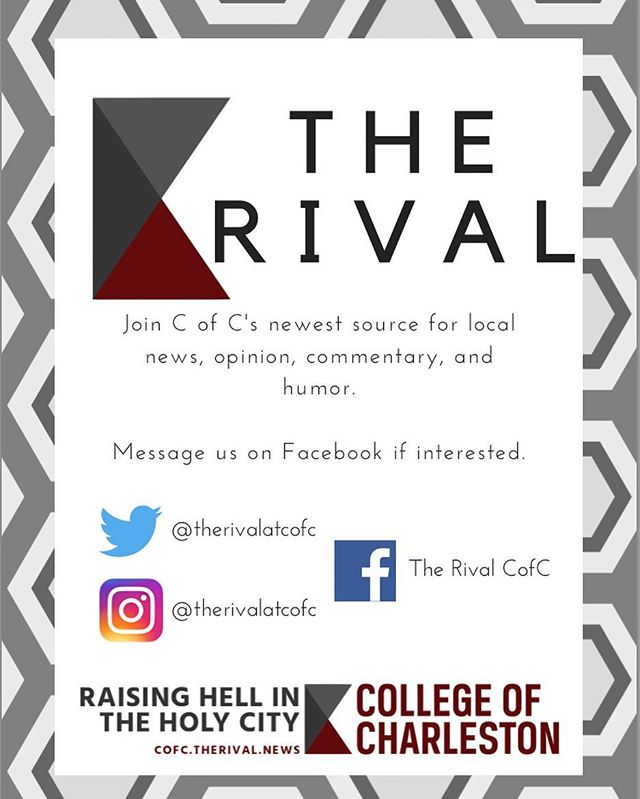 Are your friends tired of you constantly ranting to them? Do you want to boost your resume by joining a new organization? Do you like writing, covering events and festivals, and editing? If you answered yes to any of these questions, message us on insta or fb to find out how to join! #recruitment #therival #cofc #goesdowninthedm
