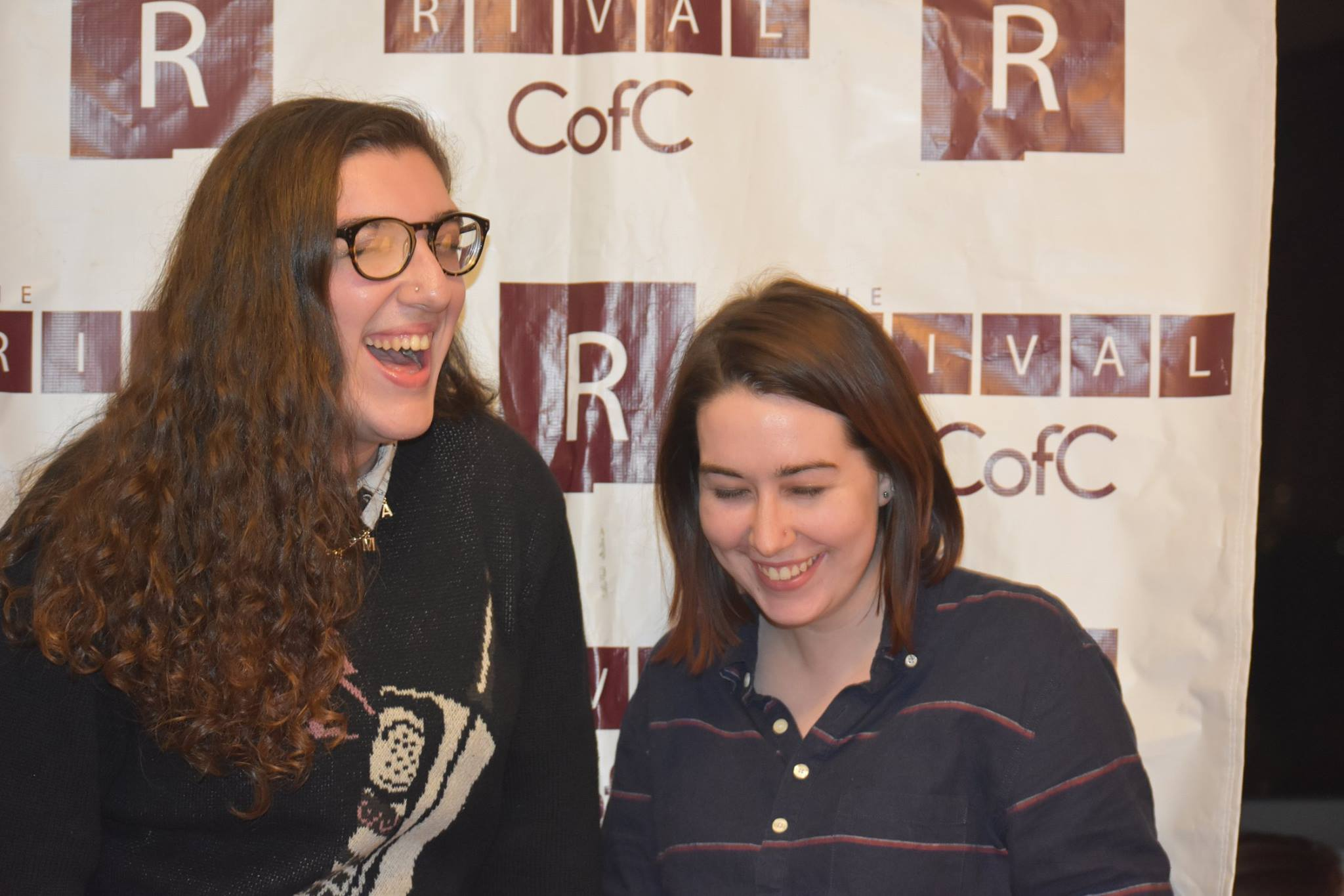 Founder/former Managing Editor Meredith Wohl & former Director of Communications Allie Stubbs, 2017