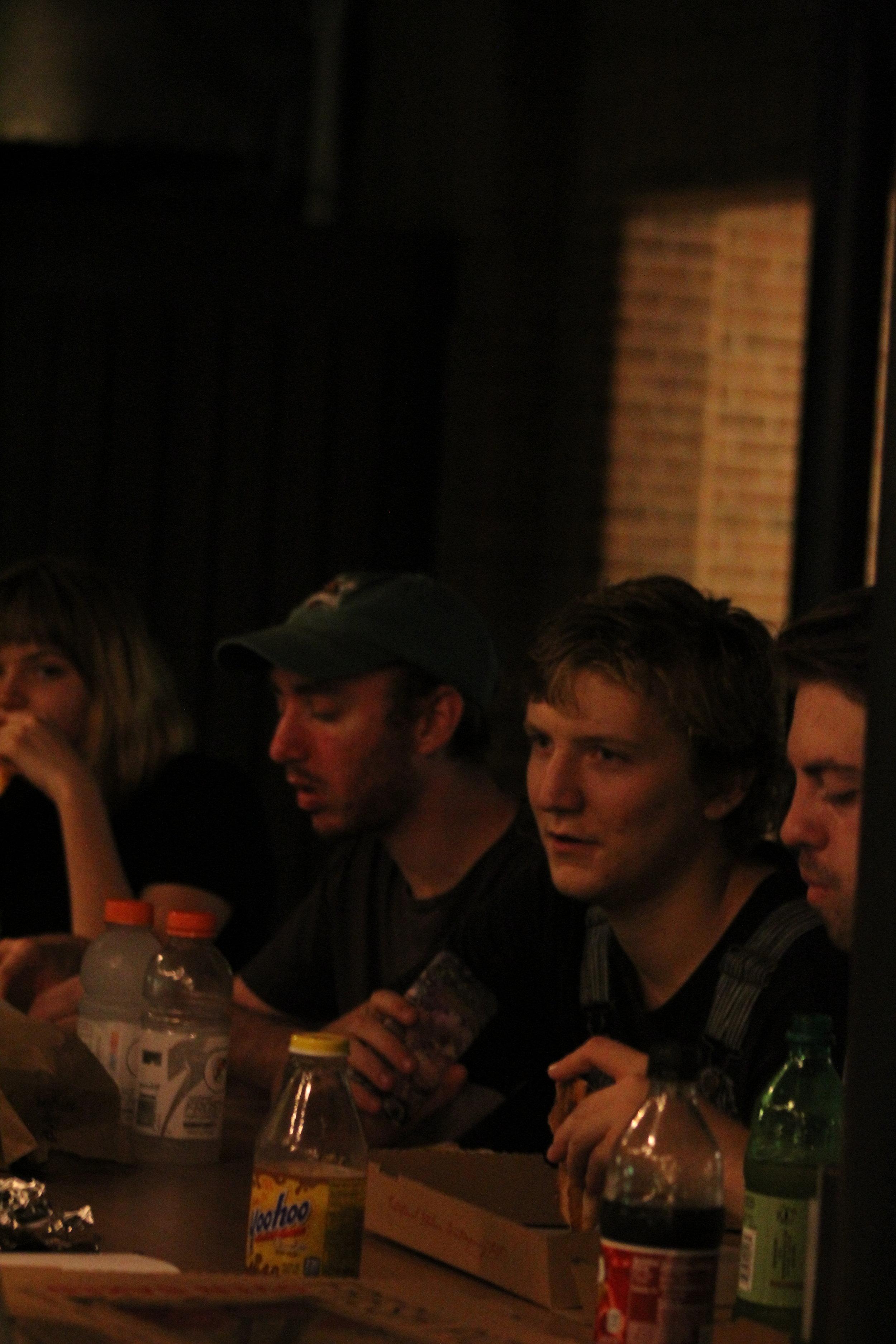 Molly Druga, Dan Fetterolf, Jackson Wise, and Timothy McFall