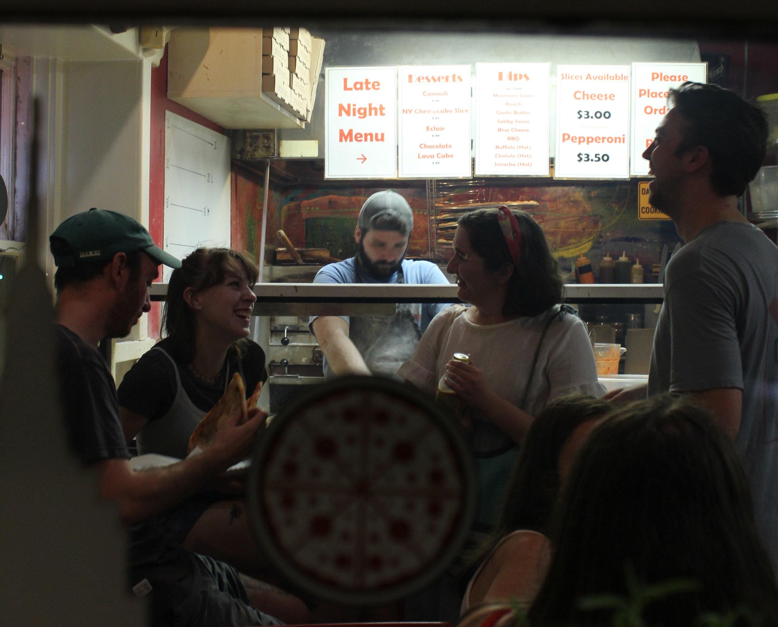 Dan, Minna, Emma, and Tim