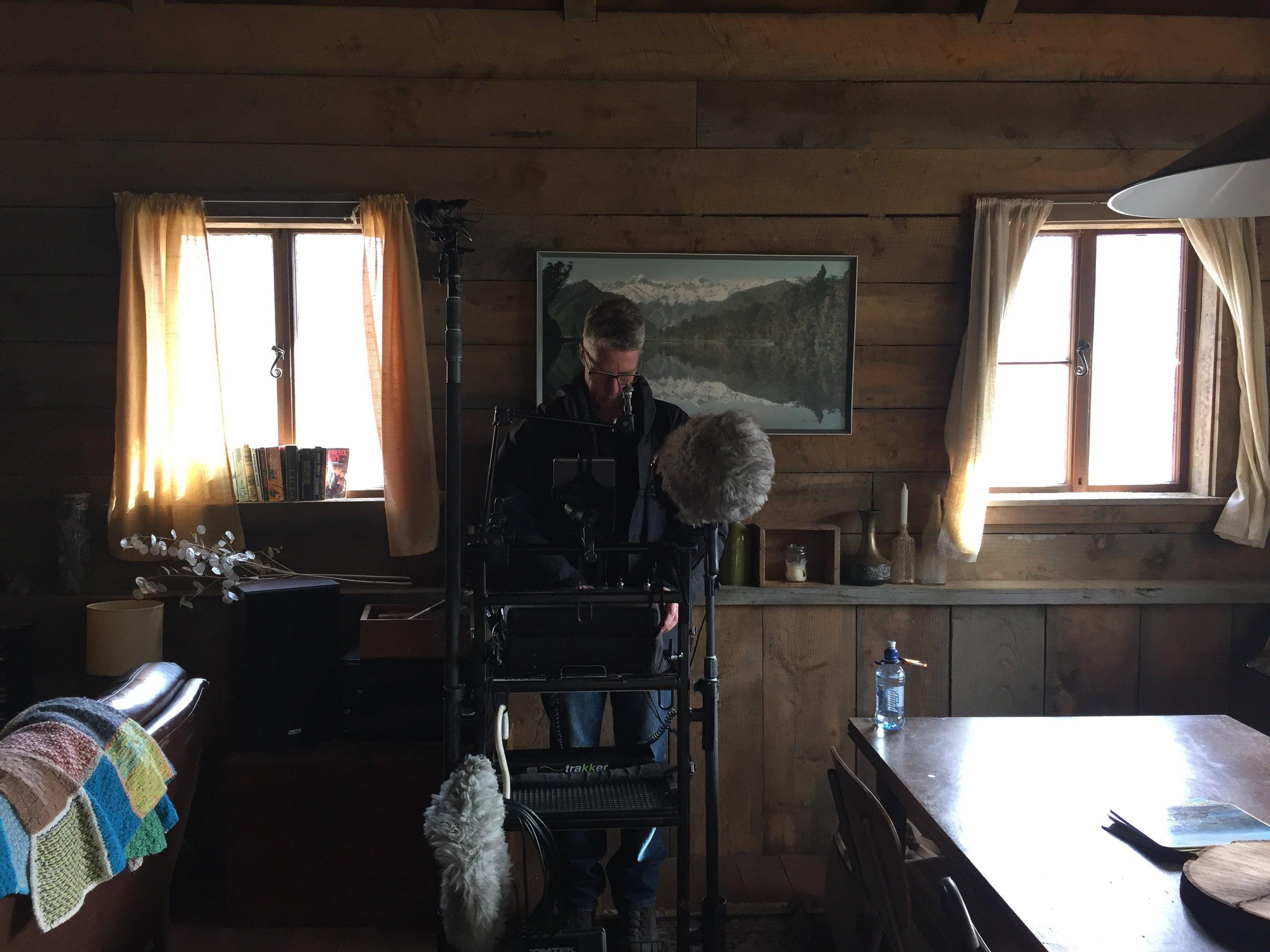 Sound Recordist Richard Flynn