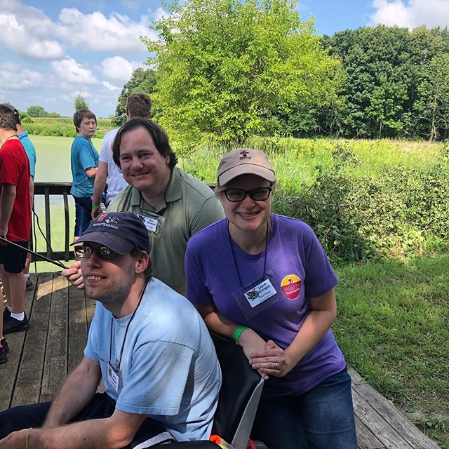 CDF has all kinds of fun—including fishing!