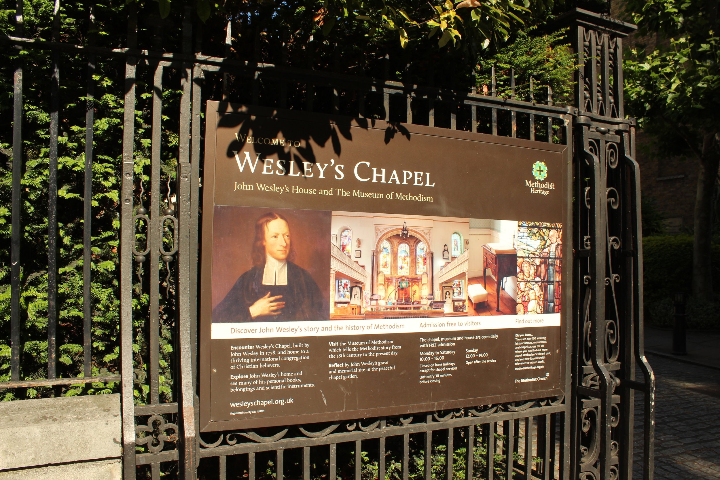 Wesley's Chapel: John Wesley's House and The Museum of Methodism