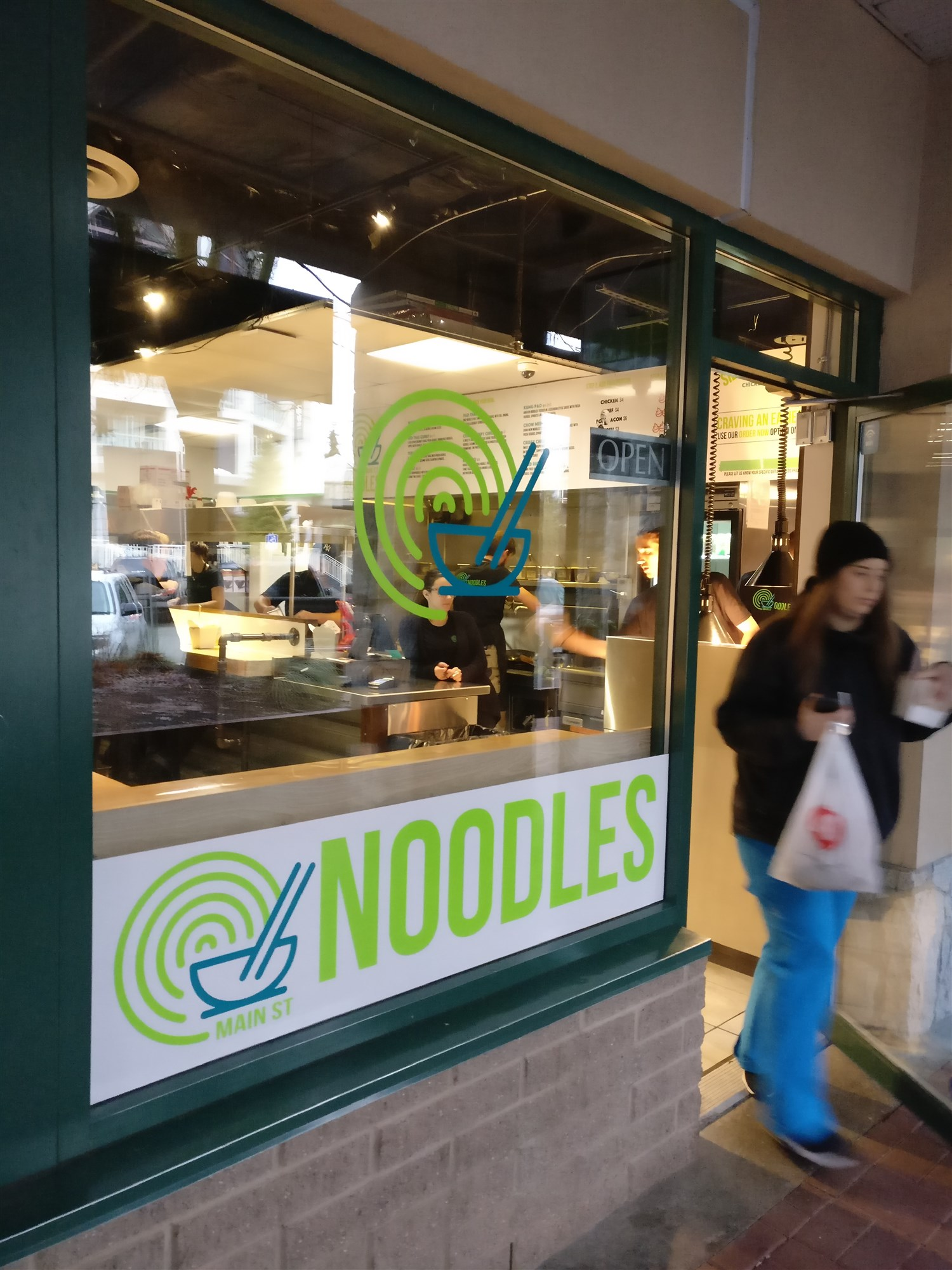 "Main Street Noodles is located in Whistler's ""Fast Food Alley.""  © Ski Travel Go"