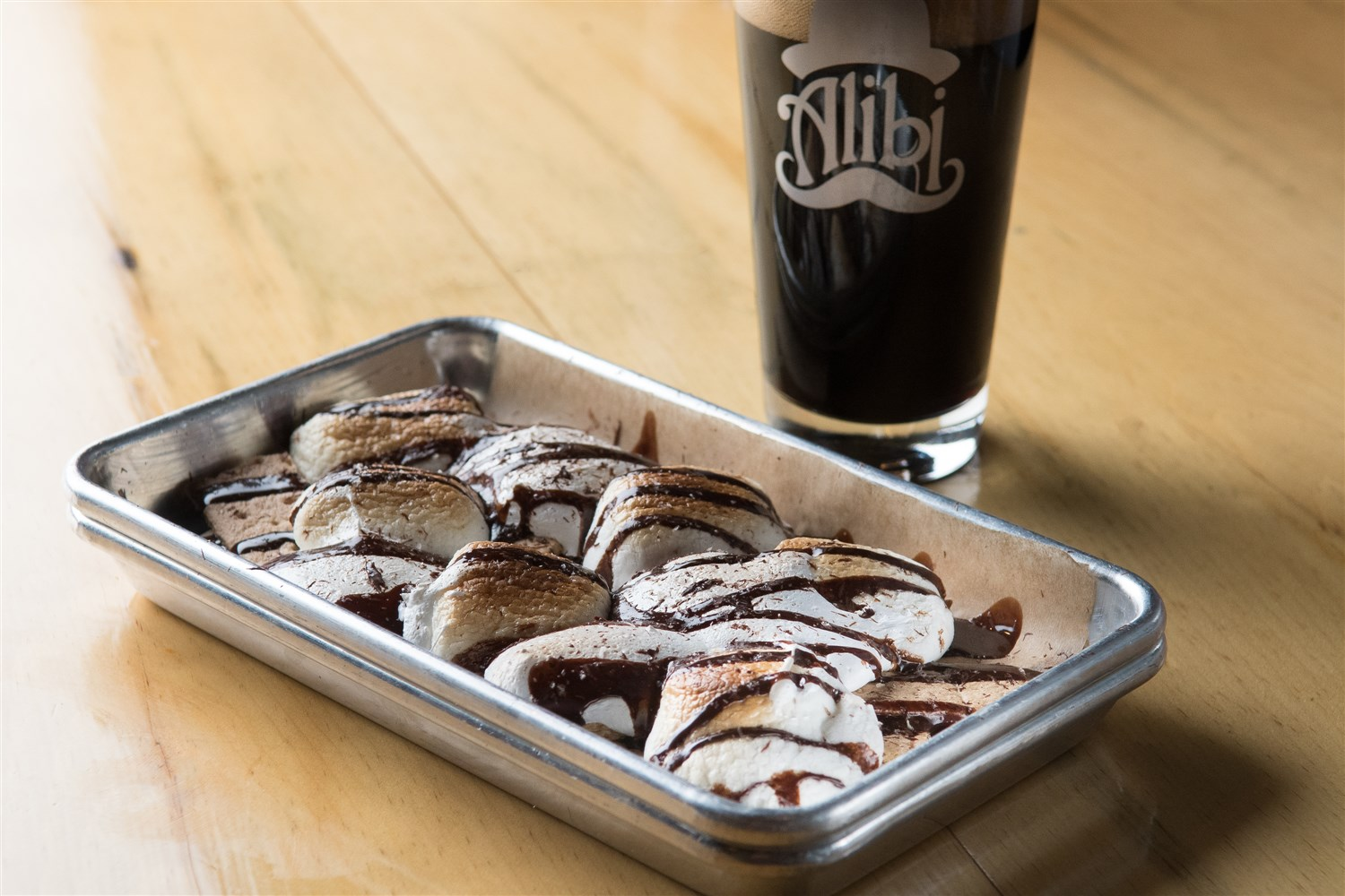 S'mores, nacho-style.  Jeff Freeman Photography | Courtesy Alibi Ale Works