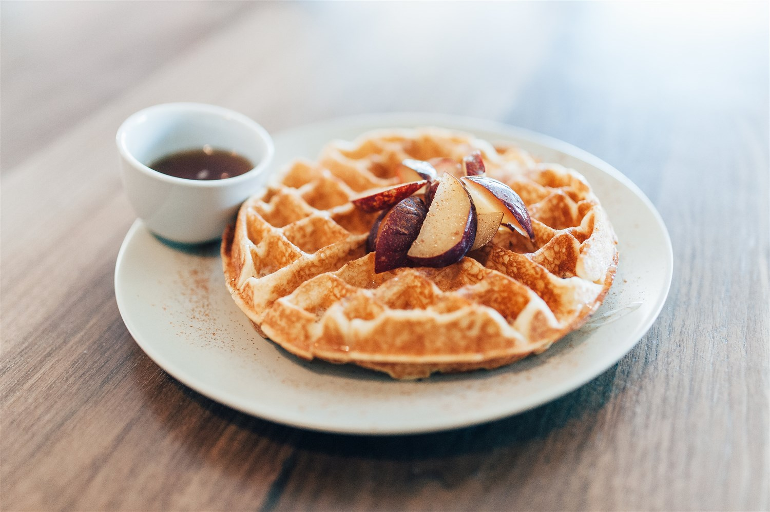 Treeline's eats include fresh-made waffles.  Stacy Townsend | Courtesy Treeline Coffee Roasters