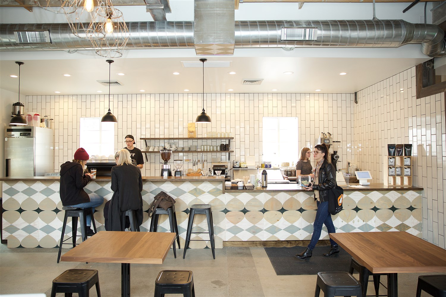 Publik's emphasis is on small batches and light roasts, which lets coffee aficionados taste differences between beans.  Courtesy Publik Coffee Roasters