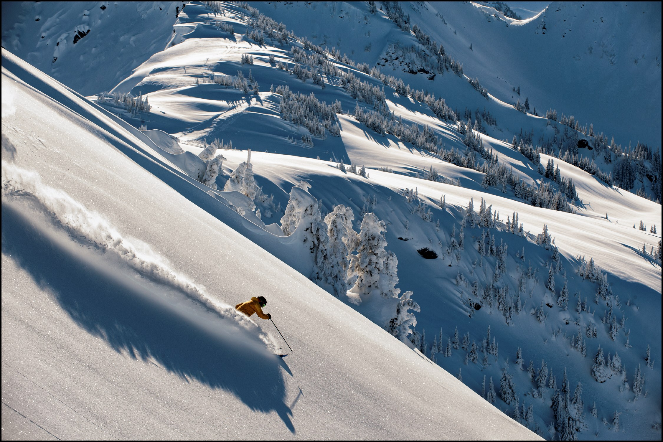 If  Revelstoke Mountain Resort 's big vertical, non-stop fall-line and steady snowfalls look like a helicopter skier's dream, it's no accident. The City of Revelstoke has been an  epicenter for helicopter skiing  since 1978.  Dave Heath | Courtesy Destination BC