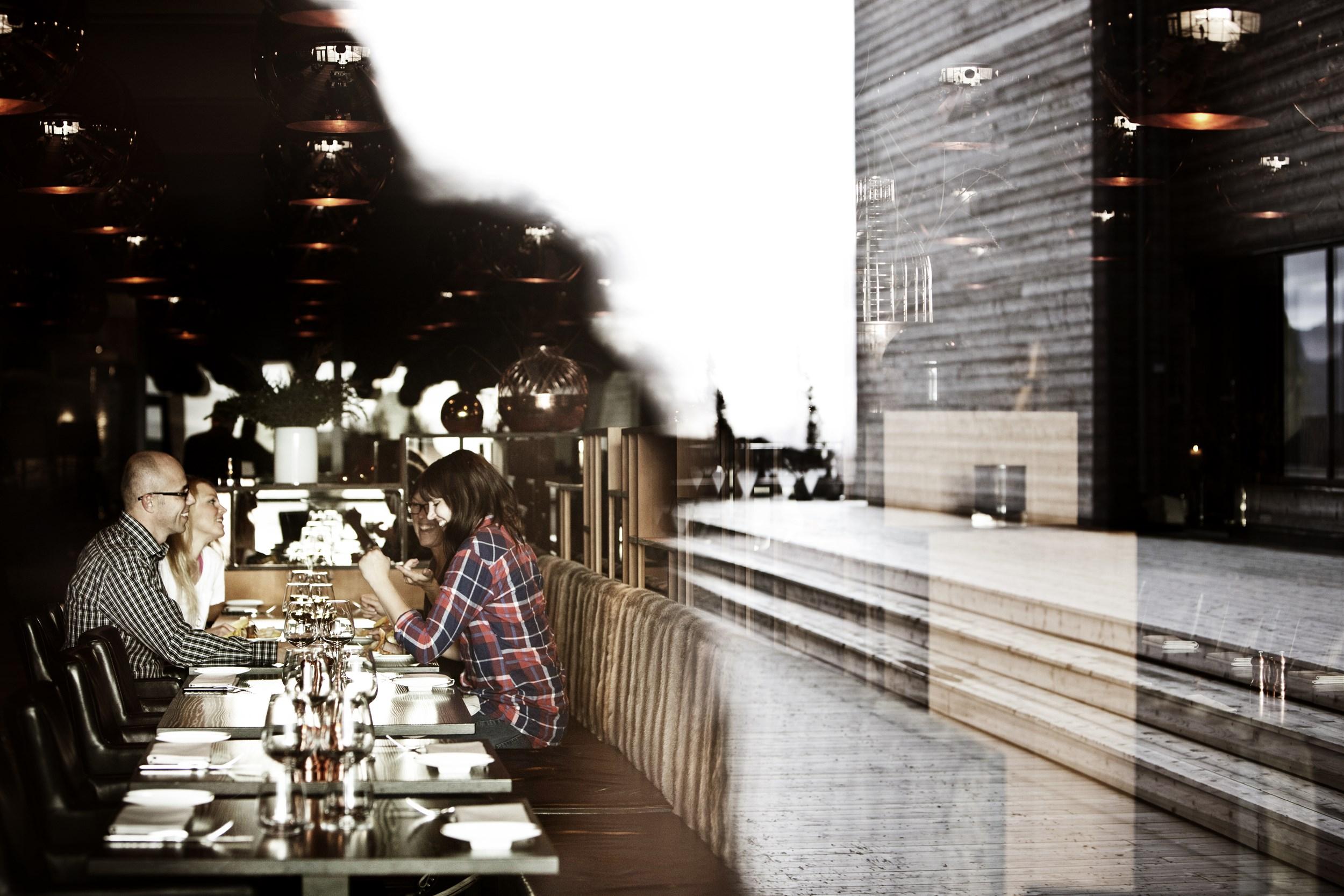 Dining at  Copperhill Mountain Lodge .  Tina Stafrén |    Jämtland Härjedalen Tourism