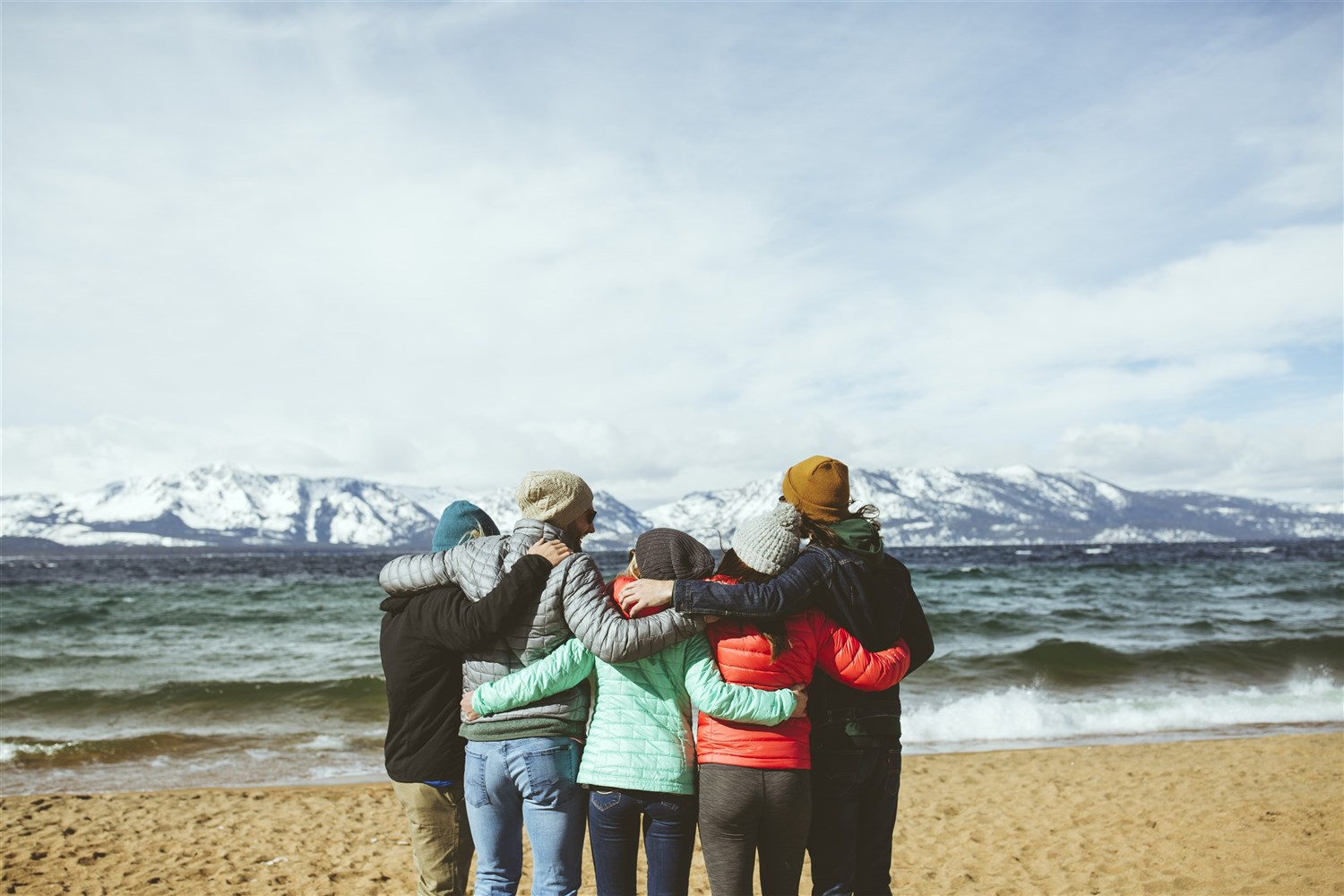 Heavenly  stands alongside Lake Tahoe like friends standing arm in arm. The lake is the largest alpine lake in North America, and among the 20 oldest lakes on Earth.  Courtesy Vail Resorts