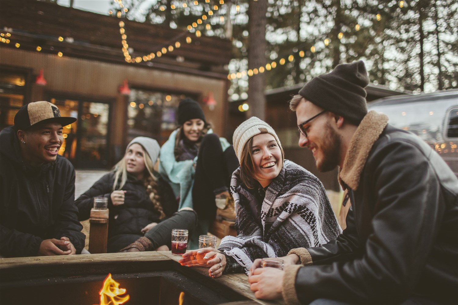 Après-ski in Tahoe is its own breed of fun, and we like it a lot. In South Lake Tahoe and Stateline, so many good spots are located in strip malls and older buildings that you often have to look beyond the surface appearance of businesses to find the good spots. It's well worth it!  Courtesy Vail Resorts