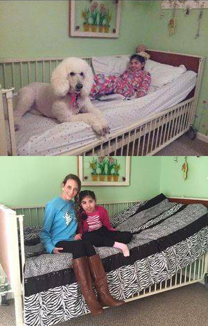 Pennies 4 Preemies was so thrilled to be able to provide this hospital bed and comforter to our new friend Faith! - This is I why I started Pennies 4 Preemies. I want to be able to help beautiful people like Faith.