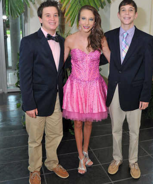 At an appearance with my awesome brothers, Austin and Brady. Thank you for always being there for me!