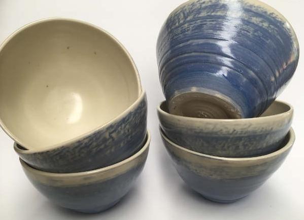 Small Blue Bowls - $25 each