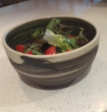 Slightly Square Small Salad Bowl - $45
