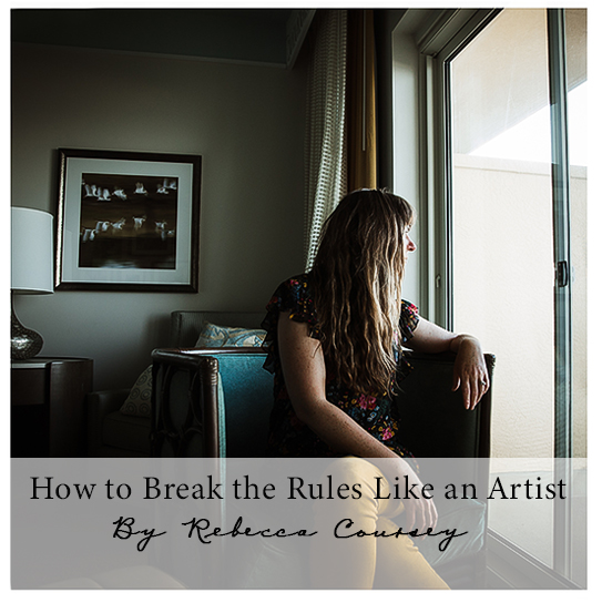 We all understand the rule of thirds and the active space rule, but where's the fun in that? Rebecca Coursey is going to get us shooting outside the box with her enlightening class about breaking all those rules in all the right ways.
