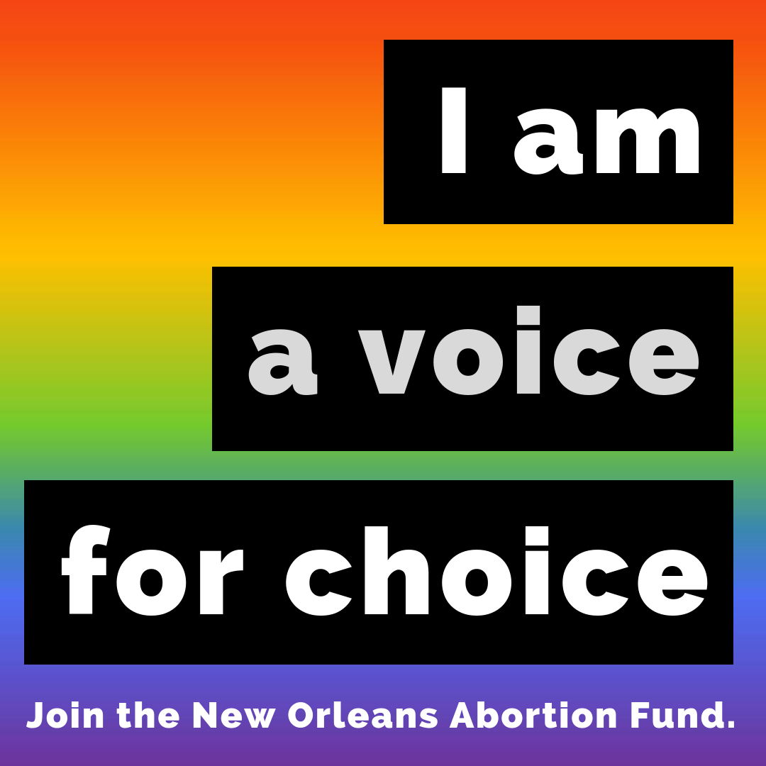 Show us how you are a voice for choice. - Download social media graphics and #joinNOAF with us on Instagram!