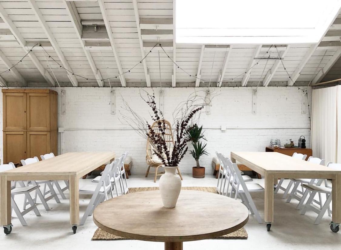 Clove + Whole 's beautiful studio
