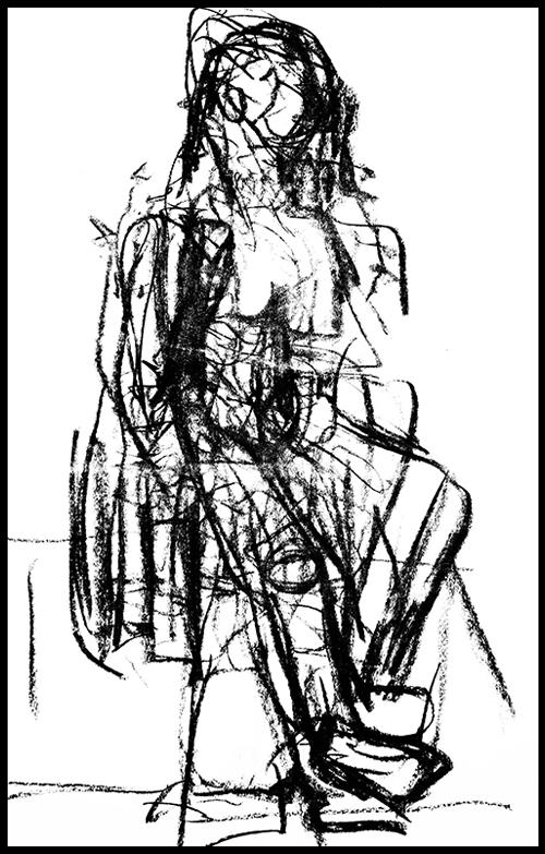 Gina DeCagna, Life Drawing -Subliminal Sensory Study #4.jpg
