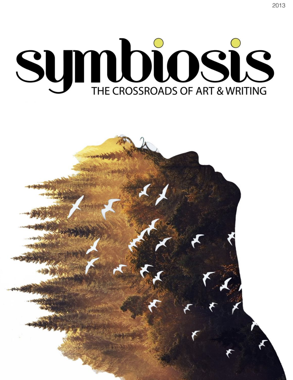 "Symbiosis Issue I - As the inaugural issue of the newly formed student group of Symbiosis at the University of Pennsylvania, this 2013 annual issue explores the humanistic vision of the otherwise scientific term, ""symbiosis."" The magazine contains a diverse selection of poetry and prose with visual artworks, designed from the writer's text to the artist's image, and as created through the coordinated efforts of participants in the act of c0-creation and co-authorship."