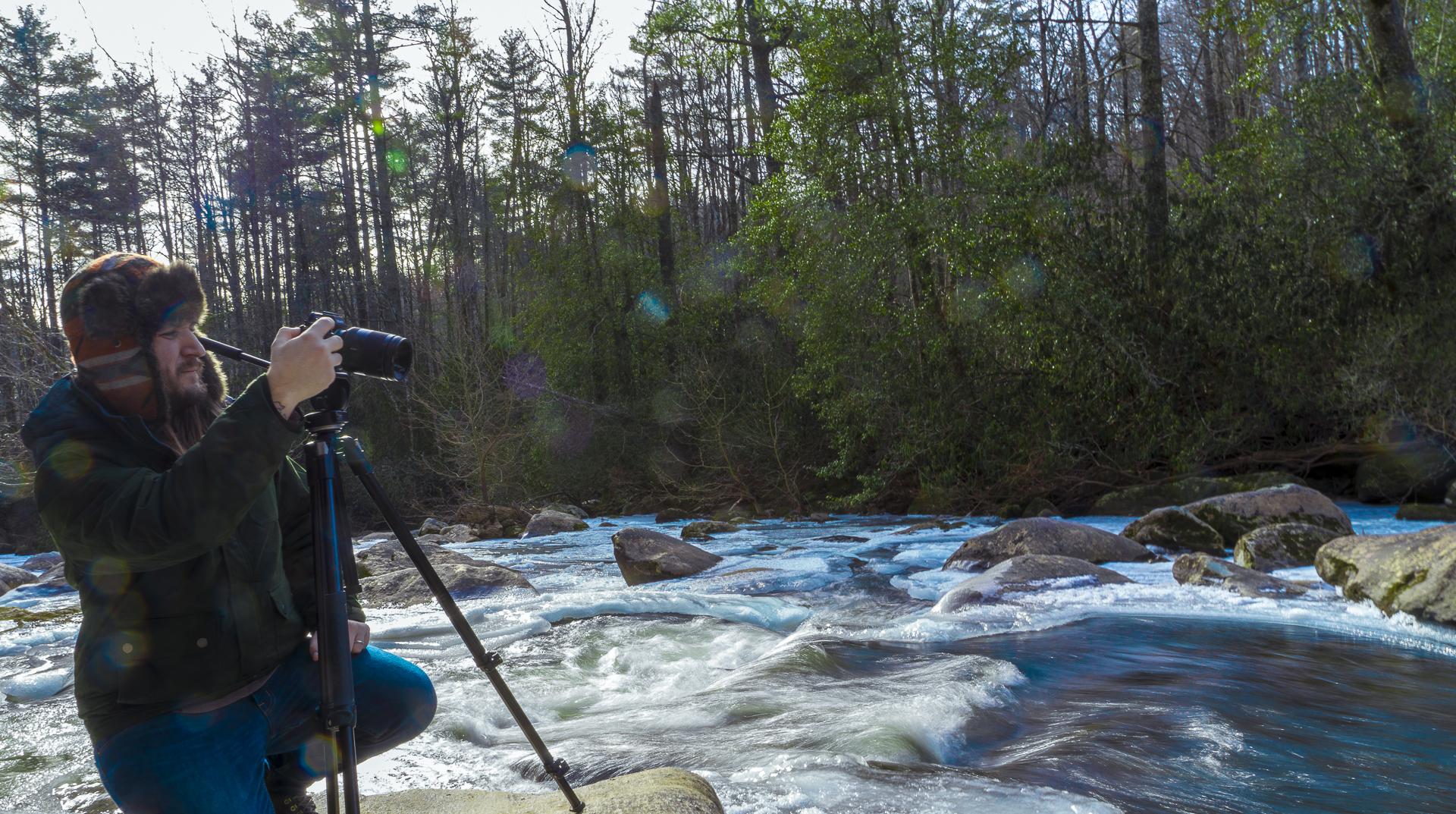 Stephen Frozen river.JPG