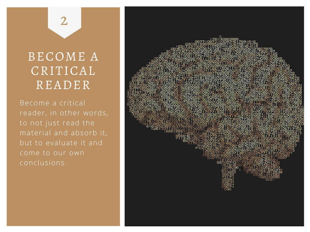 Become a Critical Reader