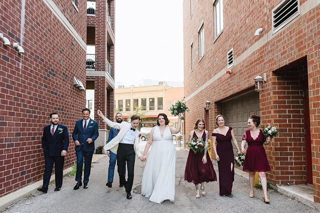 Wedding squad strong! 📸 by: Gina  Visit us at www.shortnorthweddings.com #shortnorth #weddingphotographer #weddingphotography #columbusphotographer #columbuswedding #columbusweddings #614 #614wedding #columbusohio #wedding #theknot #knotwedding #weddingwire #weddingparty #squad #squadgoals