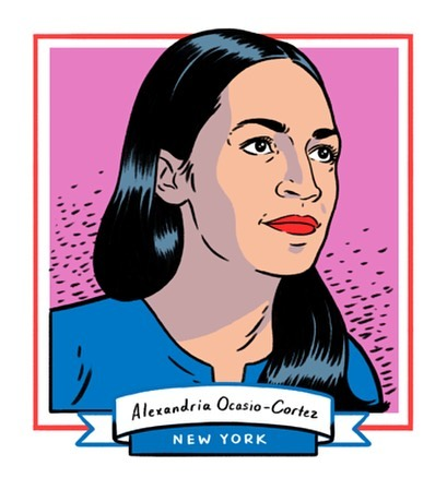 The future is female. Congratulations to these 10 amazing women for making history and being elected to Congress. Illustrations from @huffpostwomen and Kyle Hilton