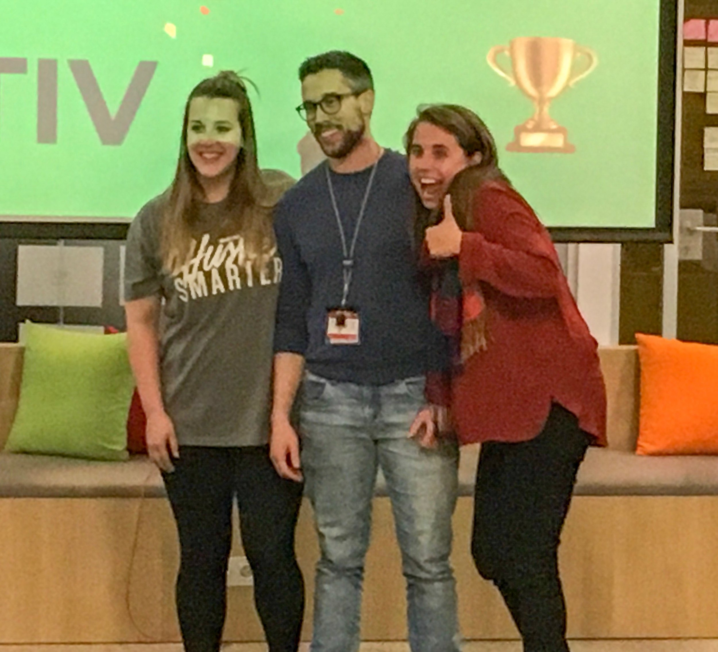 Coactiv for the (2nd place) win!