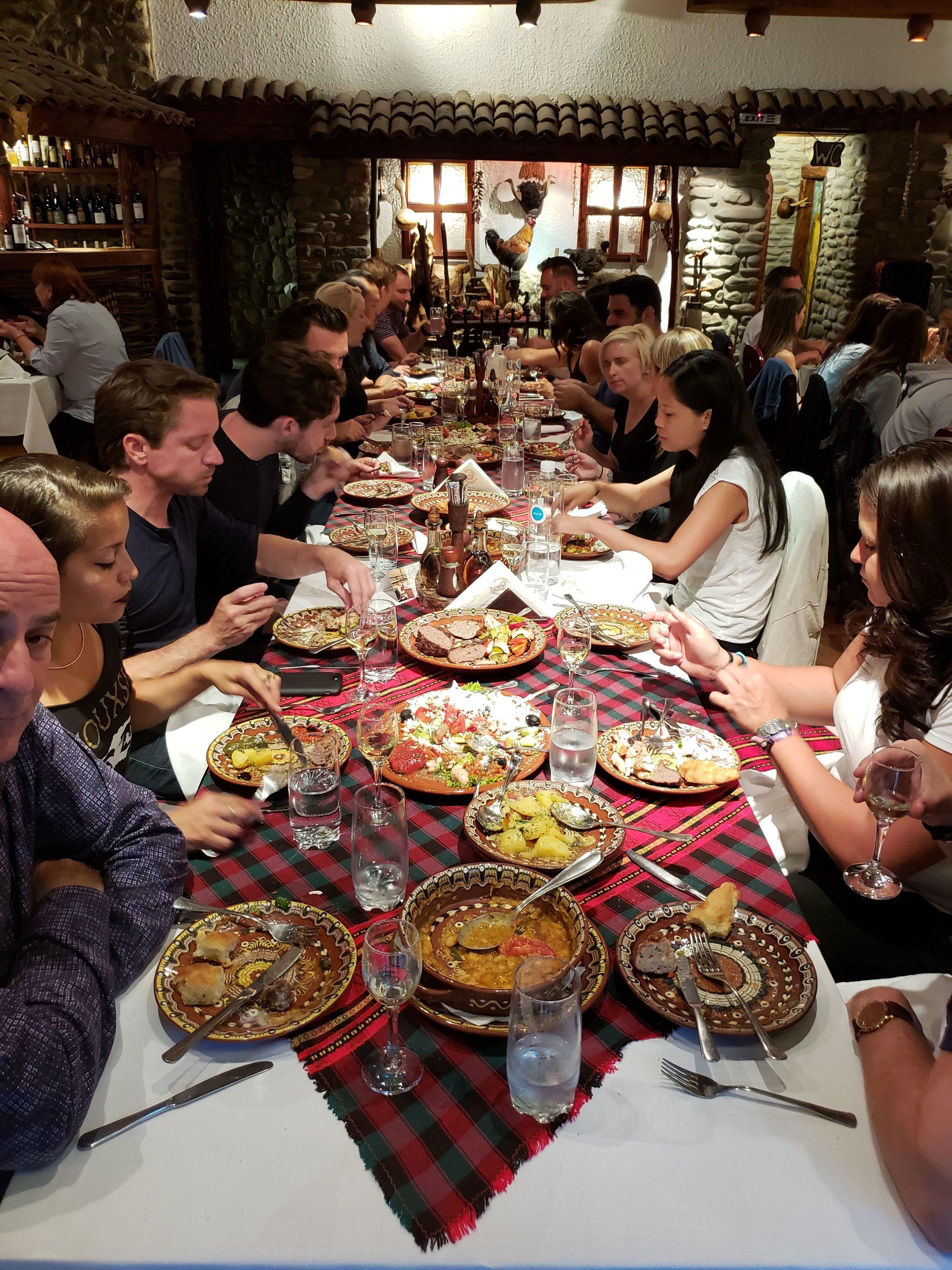 sofia bulgaria vodenitzata traditional bulgarian food remote year