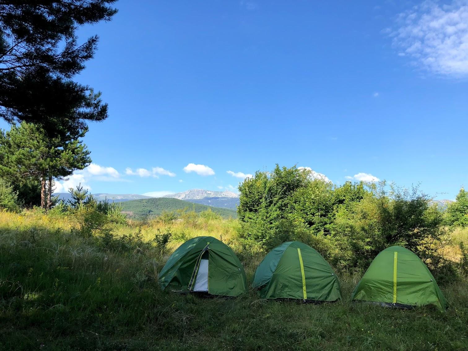 sofia bulgaria camping vitosha mountain